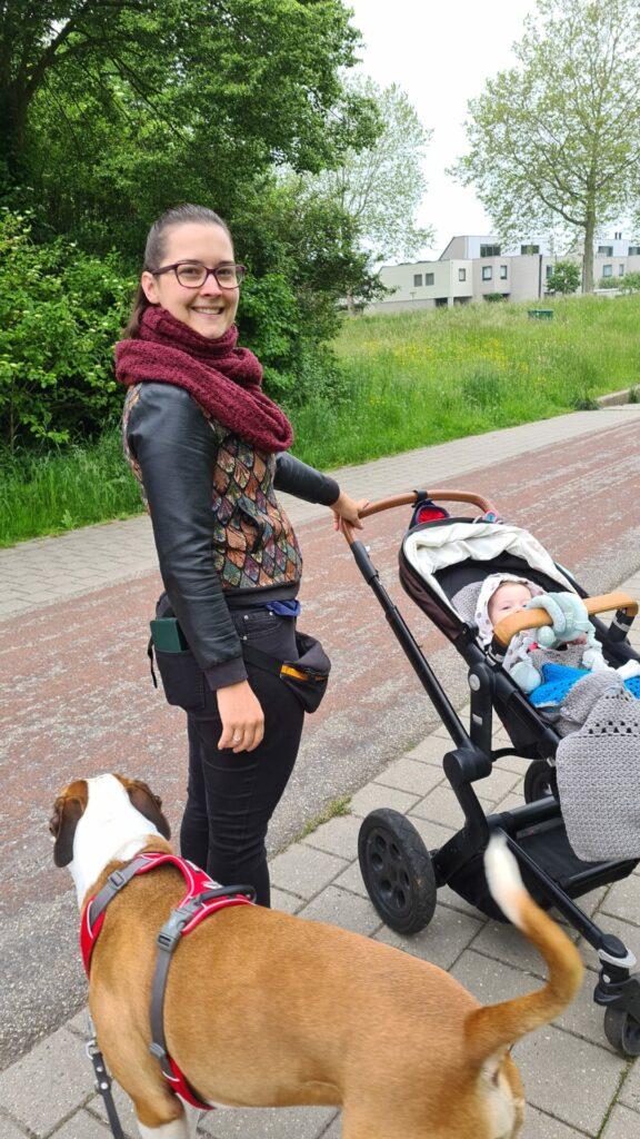 Tanja-met-hond-en-kind